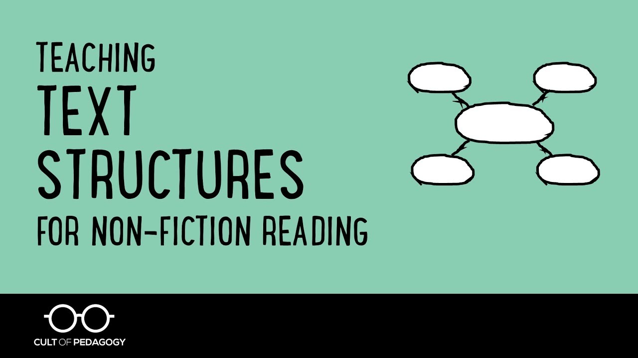 Teaching Text Structures For Nonfiction Reading  Youtube Teaching Text Structures For Nonfiction Reading