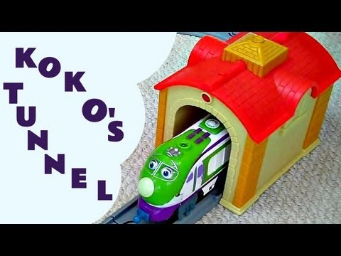 Chuggington Interactive KOKO & THE TUNNEL Review Train Set Like Thomas And Friends Kids Train Set