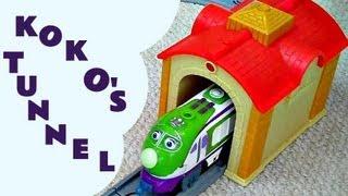 Chuggington Interactive KOKO & THE TUNNEL Review Train Set Like Thomas And Friends Kids Train Set