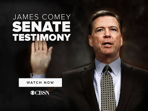 James Comey | Full Senate Testimony on CBSN
