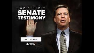 James Comey | Full Senate Testimony on CBSN