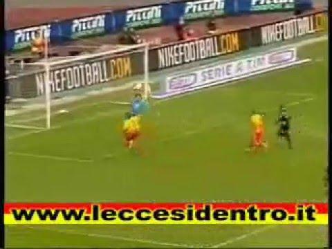 Tutti i goals al Lecce di Mirko Vucinic