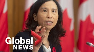 Coronavirus: Canada could see 20,000 COVID-19 cases daily by December, new projection says | FULL