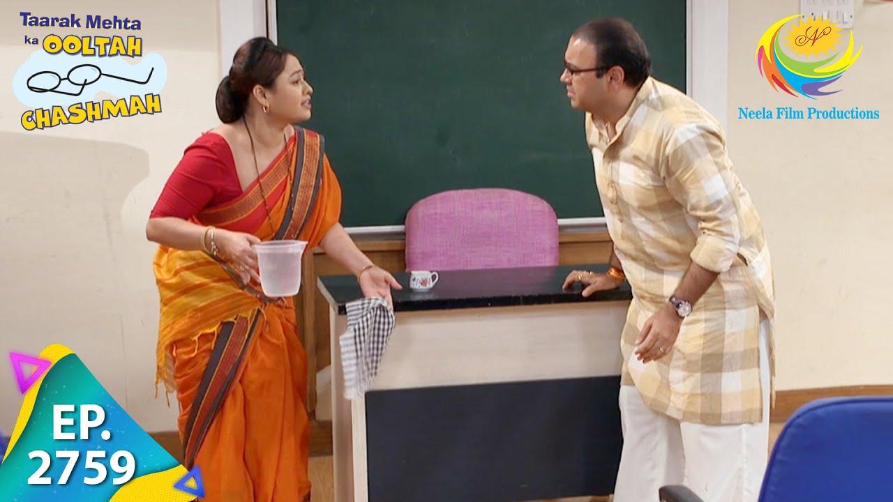 Download Taarak Mehta Ka Ooltah Chashmah - Episode 2759 - Full Episode