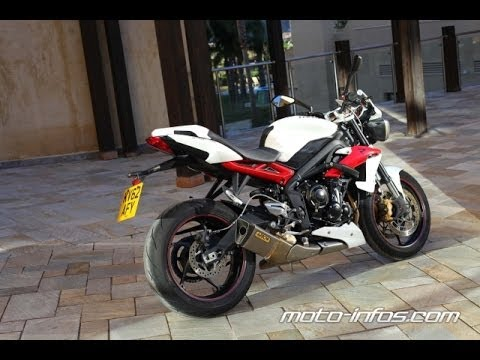 essai de la triumph street triple r by keyzer youtube. Black Bedroom Furniture Sets. Home Design Ideas