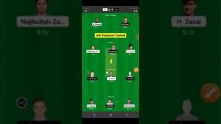 AFG vs SCO Dream11 Team | AFG vs SCO Grand League Team | World Cup Match | AFG vs SCO Dream11 Today