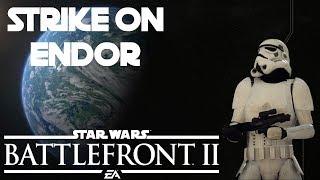 Strike on Endor   Research Station 9   Star Wars Battlefront 2 Gameplay