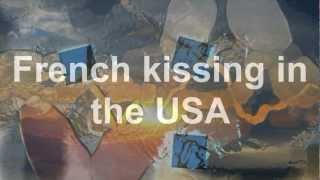 French Kissing In The USA (Lyrics)