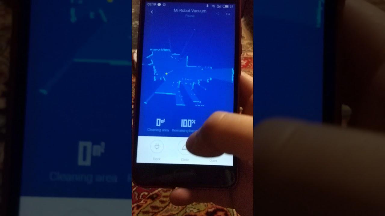 Xiaomi Vacuum Test