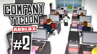 HIRING WORKERS - Roblox Company Tycoon #2