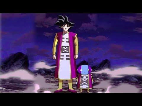 Goku Under Omni King Training