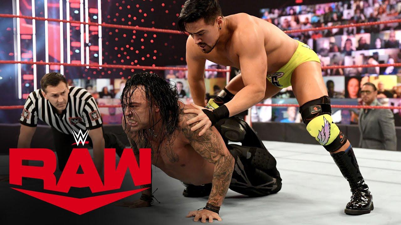 Damian Priest vs. Angel Garza: Raw, Feb. 8, 2021