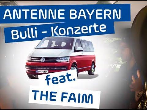 The Faim | Bulli-Konzert | ANTENNE BAYERN