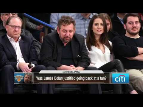 New York Knicks owner James Dolan curses out fan at MSG Mp3