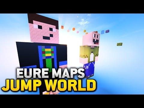 ICH BAUE MAP + MODERATOREN GESUCHT - Minecraft: JUMP WORLD #2