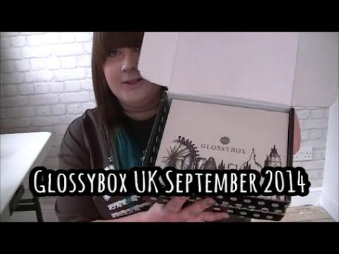 Glossybox UK September 2014 designed by Karen Millen