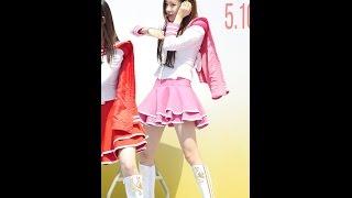 150510 크레용팝(Crayon Pop) 엘린 - FM @여성마라톤 대회 직캠/Fancam by -wA-
