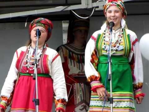 видео: Песня на мордовском