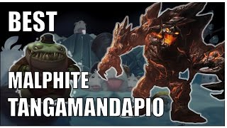 Best Tahm Kench y Malphite Ultis Locas | League of Mancos