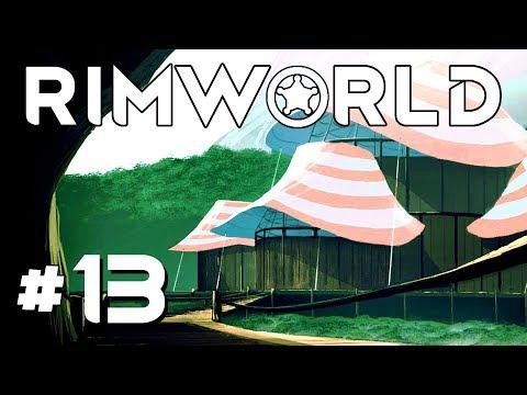 Direct Tornado Strike! - Ep. 13 - RimWorld Beta 18 Gameplay