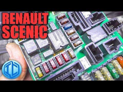 Диагностическое расследование, почему не заводится Renault Scenic 1,9 DCi двигатель F9Q