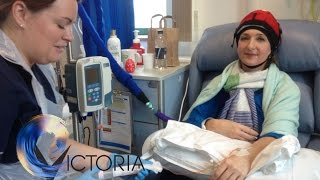 Victoria Derbyshire's breast cancer video diary: Chemotherapy - BBC News