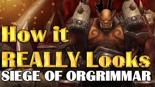 How it REALLY Looks - Siege of Orgrimmar