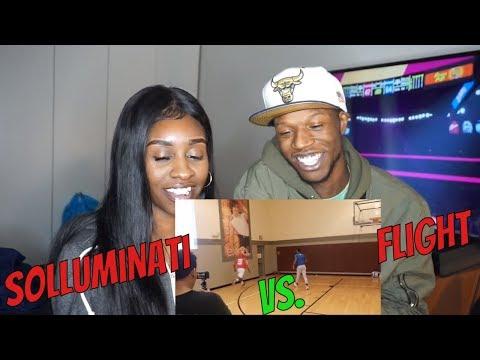 SoLLUMINATI vs FLIGHT 1v1 (Raw Footage) -REACTION
