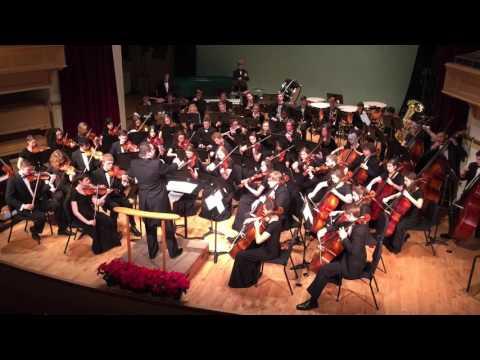 Stille Nacht (Mannheim Steamroller) - Normal West Symphony Orchestra