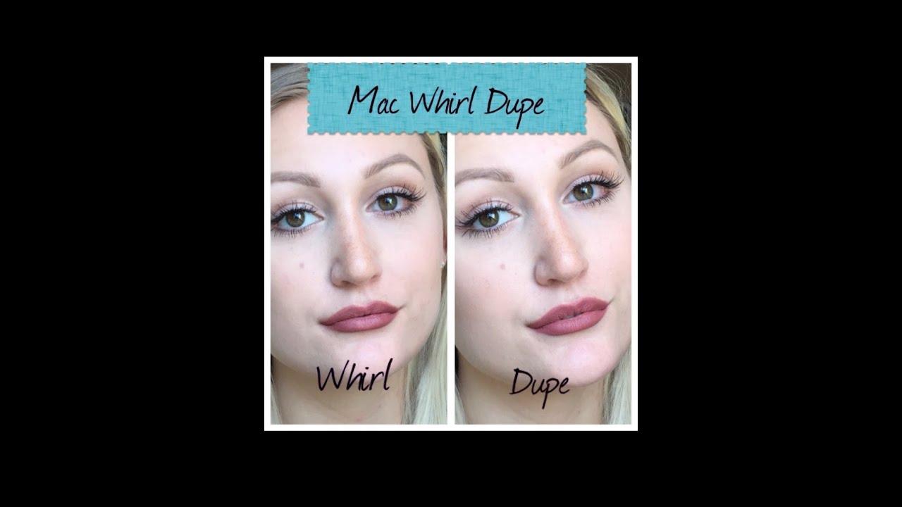 Très MAC Whirl Dupe new   Neues MAC Whirl Lipliner Duplikat   BeautyV  HY12
