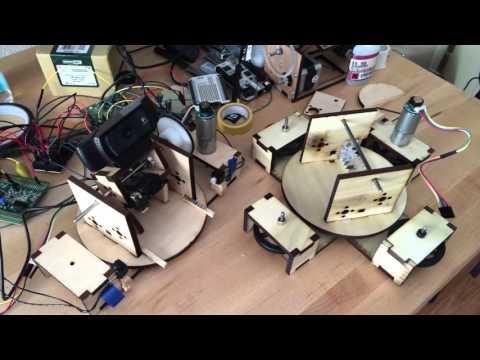 Alvaro Prieto Lessons in Making Laser Shooting Robots