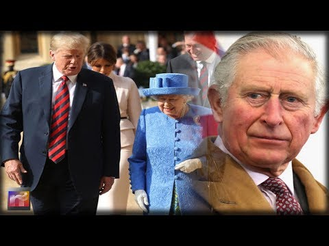 Leftist SNOBS Princes Charles and William Refused To Meet with Trump Report Claims