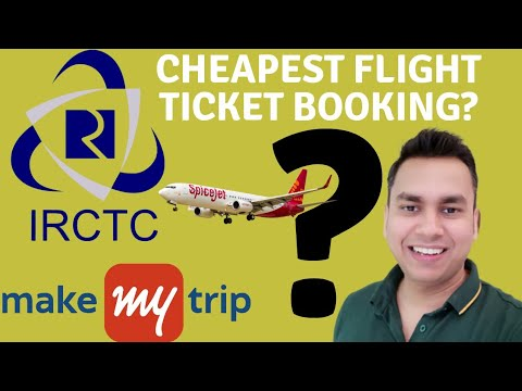 HOW TO BOOK CHEAPEST FLIGHT TICKETS | IRCTC FLIGHT BOOKING