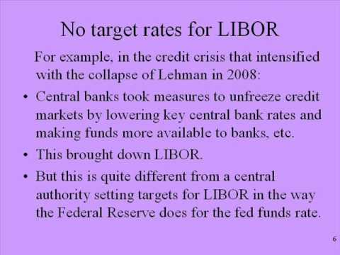 LIBOR & THE FED FUNDS RATE