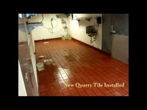 Replacing A Quarry Tile Floor Youtube