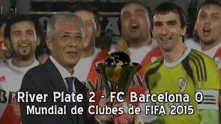 River Plate 2 - FC Barcelona 0 (Mundial de Clubes)