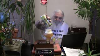 Beer Review # 3390 Upland Brewing Juiced In Time IPA