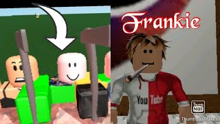 RUNNING FROM FLAMINGO IN ROBLOX