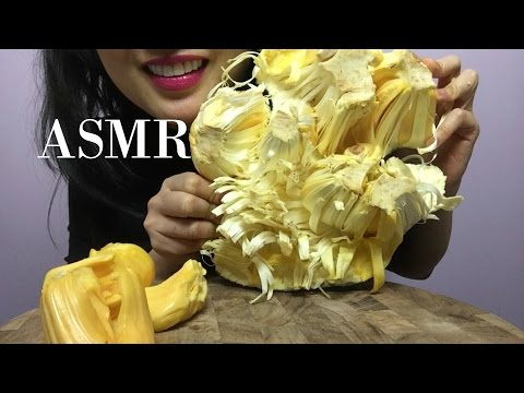 ASMR JACK FRUIT Q&A (WHISPER + EATING SOUND)  | SAS-ASMR