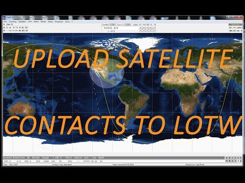 How to upload ham radio satellite contacts to Logbook of the World