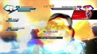 Super Saiyan God Goku Dragon Ball XenoVerse commentary multiplayer PC three players online co-op