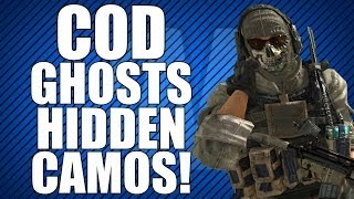 COD Ghosts: Secret Camos Leaked! (Lets Talk Micro-Transactions)
