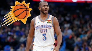 Chris Paul Might Be in A Phoenix Suns Uniform Soon...