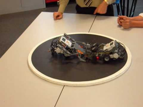 LEGO Mindstorms NXT Sumo Robot Competition