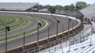 Indianapolis 500 Wednesday Practice (Northeast Vista) - Following Scott Dixon