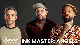 Healed by an Angel in Oklahoma City: Elimination Tattoo Sneak Peek | Ink Master: Angels (Season 2)
