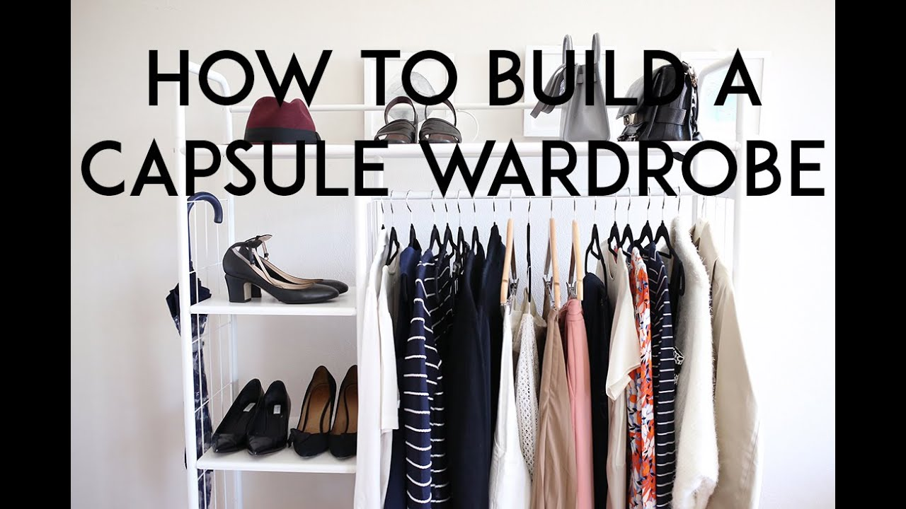 how to build a capsule wardrobe mademoiselle youtube. Black Bedroom Furniture Sets. Home Design Ideas