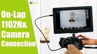 GeChic How to Mount an Camera Field Monitor on Tripod by On-Lap 1102H Portable Monitor