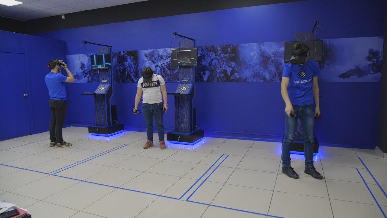 UTV. Покорить Эверест. В Уфе открылся клуб виртуальной реальности VR-zone