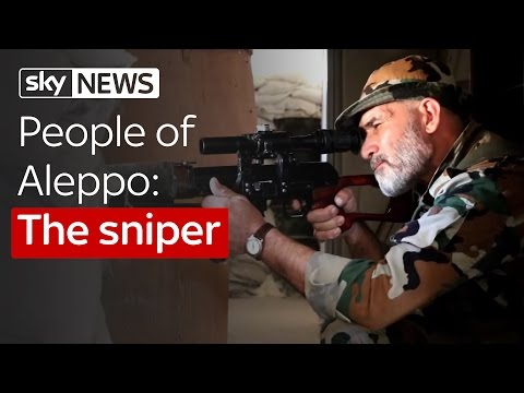 People Of Aleppo: The Sniper